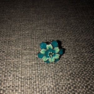 Flower costume ring
